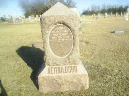 REYNOLDSON, GEORGE - Boone County, Nebraska | GEORGE REYNOLDSON - Nebraska Gravestone Photos