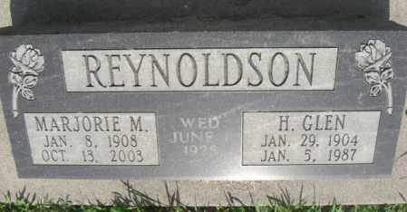 REYNOLDSON, MARJORIE M. - Boone County, Nebraska | MARJORIE M. REYNOLDSON - Nebraska Gravestone Photos