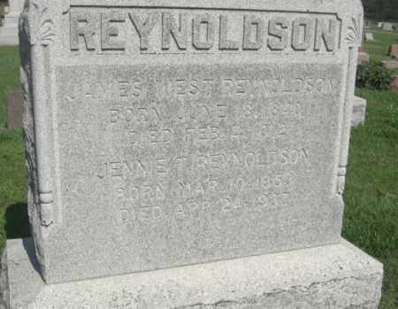 REYNOLDSON, JENNIE TRIMBLE - Boone County, Nebraska   JENNIE TRIMBLE REYNOLDSON - Nebraska Gravestone Photos