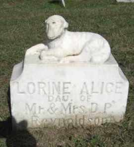 REYNOLDSON, LORINE ALICE - Boone County, Nebraska | LORINE ALICE REYNOLDSON - Nebraska Gravestone Photos