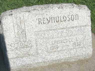 REYNOLDSON, LAWRENCE LEE - Boone County, Nebraska   LAWRENCE LEE REYNOLDSON - Nebraska Gravestone Photos