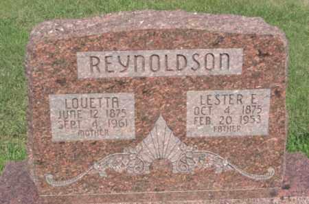 REYNOLDSON, LOUETTA - Boone County, Nebraska   LOUETTA REYNOLDSON - Nebraska Gravestone Photos