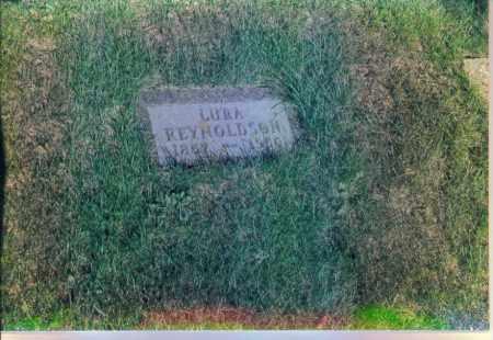 REYNOLDSON, LURA - Boone County, Nebraska | LURA REYNOLDSON - Nebraska Gravestone Photos