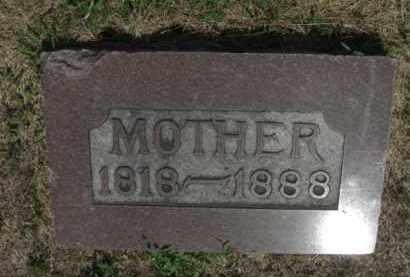 REYNOLDSON, MARY - Boone County, Nebraska | MARY REYNOLDSON - Nebraska Gravestone Photos