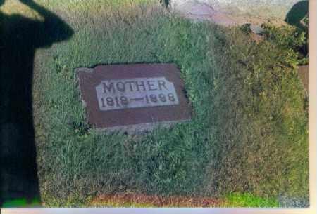 REYNOLDSON, MARY - Boone County, Nebraska   MARY REYNOLDSON - Nebraska Gravestone Photos