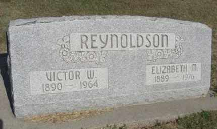 REYNOLDSON, ELIZABETH M. - Boone County, Nebraska | ELIZABETH M. REYNOLDSON - Nebraska Gravestone Photos