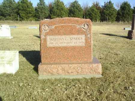 SPARKS, MARTHA - Boone County, Nebraska   MARTHA SPARKS - Nebraska Gravestone Photos