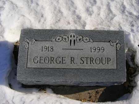 STROUP, GEORGE R - Boone County, Nebraska | GEORGE R STROUP - Nebraska Gravestone Photos
