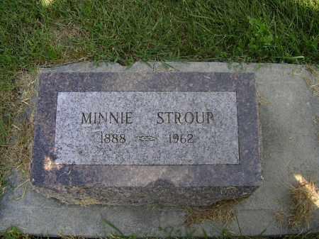 STROUP, MINNIE E - Boone County, Nebraska | MINNIE E STROUP - Nebraska Gravestone Photos