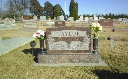 TAYLOR, FLORENCE - Boone County, Nebraska | FLORENCE TAYLOR - Nebraska Gravestone Photos