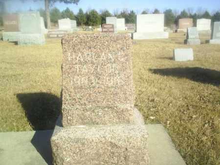 TAYLOR, HARLAN - Boone County, Nebraska   HARLAN TAYLOR - Nebraska Gravestone Photos