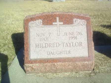 TAYLOR, MILDRED - Boone County, Nebraska   MILDRED TAYLOR - Nebraska Gravestone Photos