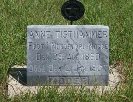 TISTHAMMER, ANNE - Boone County, Nebraska | ANNE TISTHAMMER - Nebraska Gravestone Photos