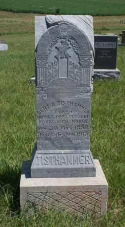 TISTHAMMER, BENT A. - Boone County, Nebraska | BENT A. TISTHAMMER - Nebraska Gravestone Photos