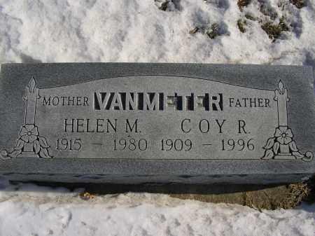 STROUP VAN METER, HELEN M - Boone County, Nebraska   HELEN M STROUP VAN METER - Nebraska Gravestone Photos