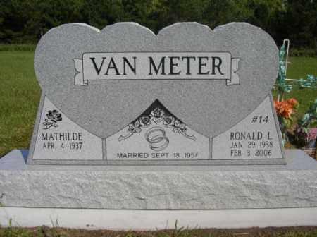 VAN METER, RONALD L - Boone County, Nebraska | RONALD L VAN METER - Nebraska Gravestone Photos