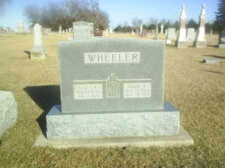 WHEELER, JAMES - Boone County, Nebraska | JAMES WHEELER - Nebraska Gravestone Photos