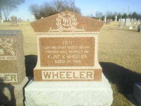 WHEELER, FLINT - Boone County, Nebraska   FLINT WHEELER - Nebraska Gravestone Photos