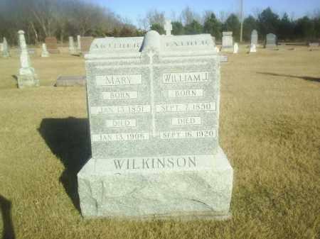 WILKINSON, MARY - Boone County, Nebraska | MARY WILKINSON - Nebraska Gravestone Photos