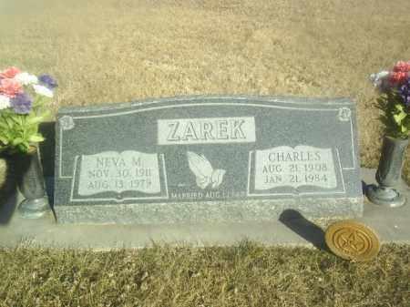 ZAREK, NEVA - Boone County, Nebraska | NEVA ZAREK - Nebraska Gravestone Photos