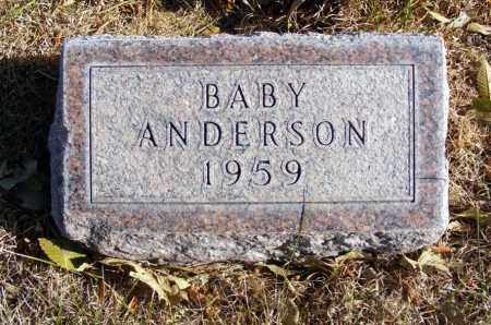 ANDERSON, BABY - Box Butte County, Nebraska | BABY ANDERSON - Nebraska Gravestone Photos