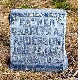 ANDERSON, CHARLES A. - Box Butte County, Nebraska | CHARLES A. ANDERSON - Nebraska Gravestone Photos