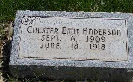 ANDERSON, CHESTER EMIT - Box Butte County, Nebraska | CHESTER EMIT ANDERSON - Nebraska Gravestone Photos