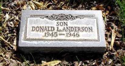 ANDERSON, DONALD L. - Box Butte County, Nebraska   DONALD L. ANDERSON - Nebraska Gravestone Photos