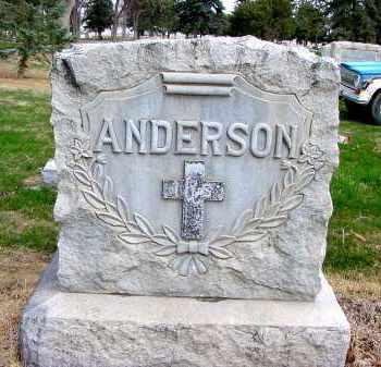 ANDERSON, FAMILY - Box Butte County, Nebraska   FAMILY ANDERSON - Nebraska Gravestone Photos
