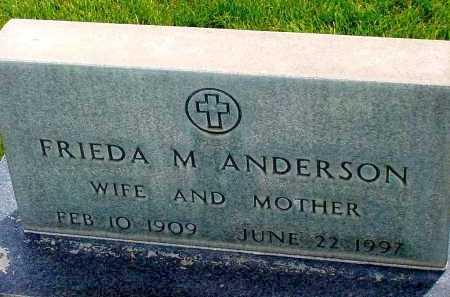 ANDERSON, FRIEDA M. - Box Butte County, Nebraska | FRIEDA M. ANDERSON - Nebraska Gravestone Photos