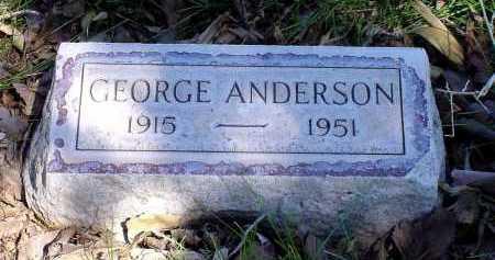 ANDERSON, GEORGE - Box Butte County, Nebraska   GEORGE ANDERSON - Nebraska Gravestone Photos