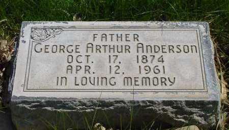 ANDERSON, GEORGE ARTHUR - Box Butte County, Nebraska | GEORGE ARTHUR ANDERSON - Nebraska Gravestone Photos