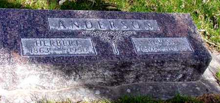 ANDERSON, ALVINA - Box Butte County, Nebraska | ALVINA ANDERSON - Nebraska Gravestone Photos