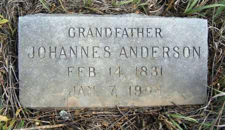 ANDERSON, JOHANNES - Box Butte County, Nebraska   JOHANNES ANDERSON - Nebraska Gravestone Photos