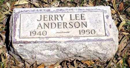 ANDERSON, JERRY LEE - Box Butte County, Nebraska   JERRY LEE ANDERSON - Nebraska Gravestone Photos