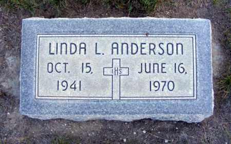 ANDERSON, LINDA L. - Box Butte County, Nebraska   LINDA L. ANDERSON - Nebraska Gravestone Photos