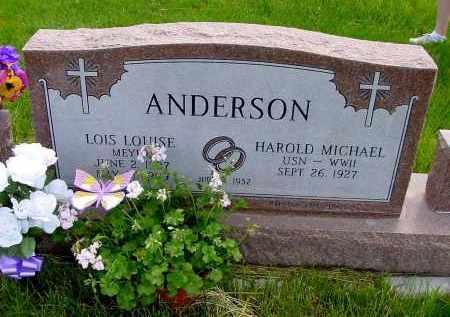 ANDERSON, HAROLD MICHAEL - Box Butte County, Nebraska | HAROLD MICHAEL ANDERSON - Nebraska Gravestone Photos