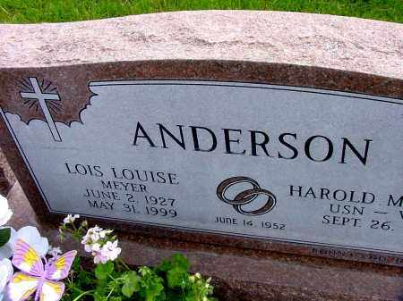 ANDERSON, LOIS LOUISE - Box Butte County, Nebraska | LOIS LOUISE ANDERSON - Nebraska Gravestone Photos