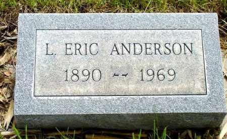 ANDERSON, L. ERIC - Box Butte County, Nebraska | L. ERIC ANDERSON - Nebraska Gravestone Photos