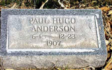 ANDERSON, PAUL HUGO - Box Butte County, Nebraska   PAUL HUGO ANDERSON - Nebraska Gravestone Photos