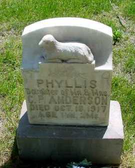 ANDERSON, PHYLLIS - Box Butte County, Nebraska | PHYLLIS ANDERSON - Nebraska Gravestone Photos