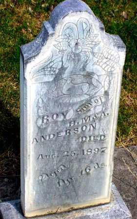 ANDERSON, ROY - Box Butte County, Nebraska | ROY ANDERSON - Nebraska Gravestone Photos