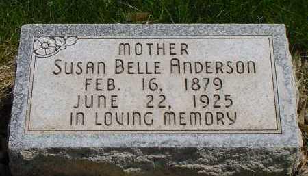 ANDERSON, SUSAN BELLE - Box Butte County, Nebraska | SUSAN BELLE ANDERSON - Nebraska Gravestone Photos