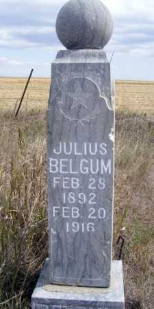 BELGUM, JULIUS - Box Butte County, Nebraska   JULIUS BELGUM - Nebraska Gravestone Photos