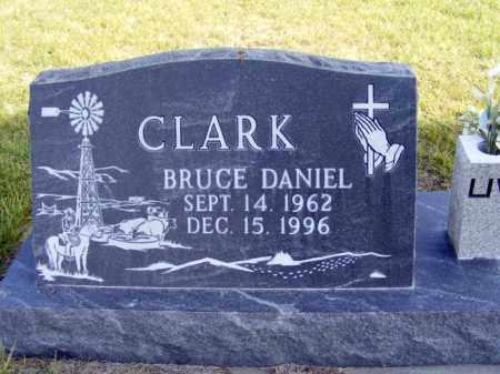 CLARK, BRUCE DANIEL - Box Butte County, Nebraska | BRUCE DANIEL CLARK - Nebraska Gravestone Photos