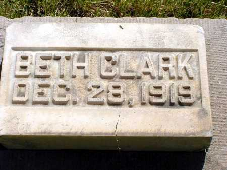 CLARK, BETH - Box Butte County, Nebraska | BETH CLARK - Nebraska Gravestone Photos
