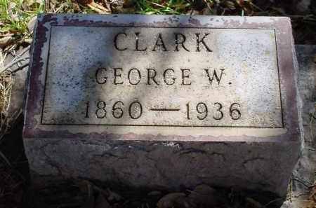 CLARK, GEORGE W. - Box Butte County, Nebraska   GEORGE W. CLARK - Nebraska Gravestone Photos