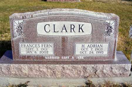 CLARK, FRANCES FERN - Box Butte County, Nebraska | FRANCES FERN CLARK - Nebraska Gravestone Photos