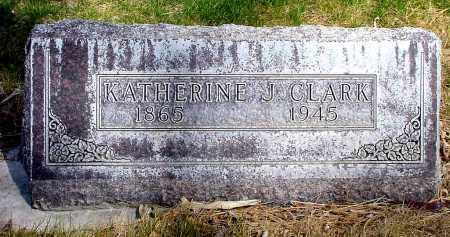 CLARK, KATHERINE J. - Box Butte County, Nebraska | KATHERINE J. CLARK - Nebraska Gravestone Photos