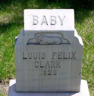 CLARK, LOUIS FELIX - Box Butte County, Nebraska   LOUIS FELIX CLARK - Nebraska Gravestone Photos